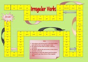 paradigmi verbi irregolari inglese